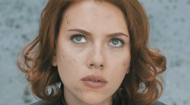 Scarlett Johansson como la Viuda Negra en 'Los Vengadores'