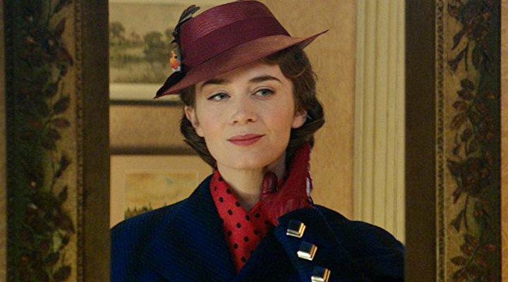 Emily Blunt en el papel de Mary Poppins