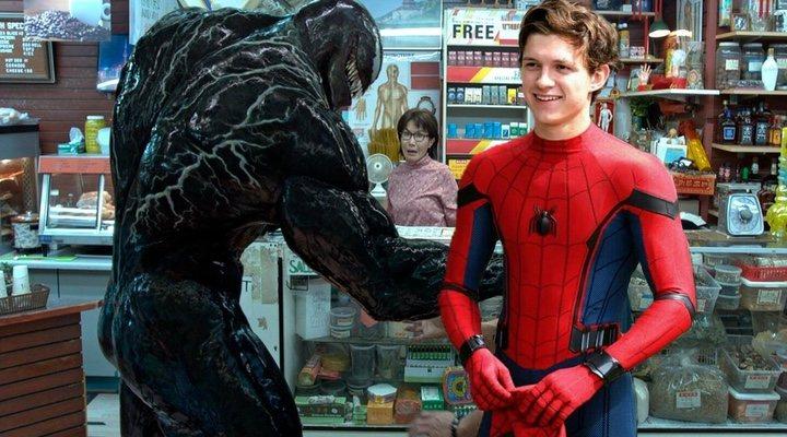 'Venom' y Spiderman