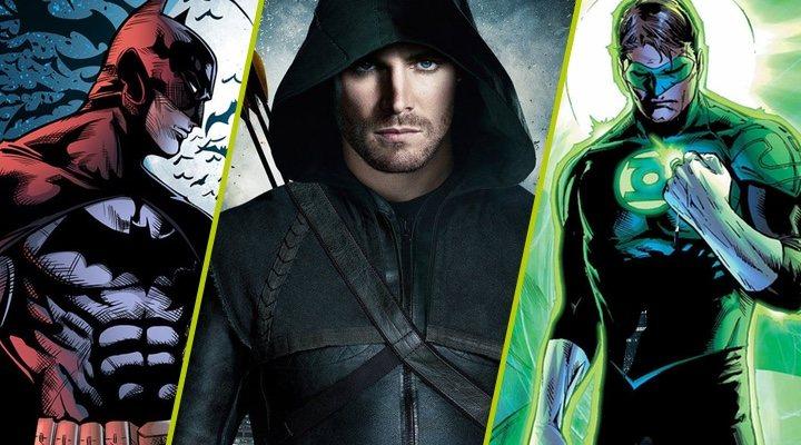 'Arrow', Batman y Linterna Verde