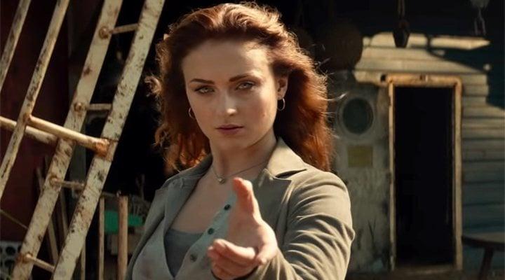 Sophie Turner como Jean Grey en 'X-Men: Fénix Oscura'