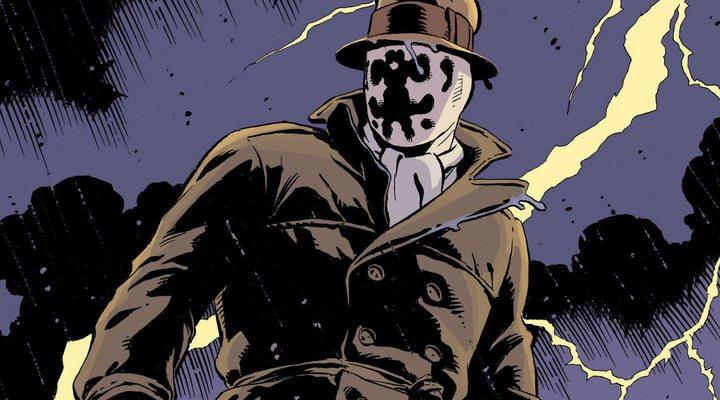 Rorschach en una viñeta de 'Watchmen'