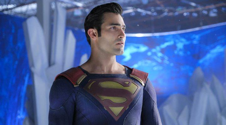 Tyler Hoechlin como Superman en 'Supergirl'