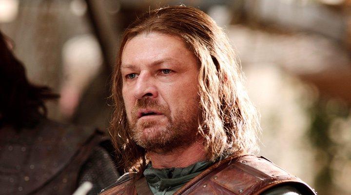 Imagen de Ned Stark en 'Juego de Tronos'