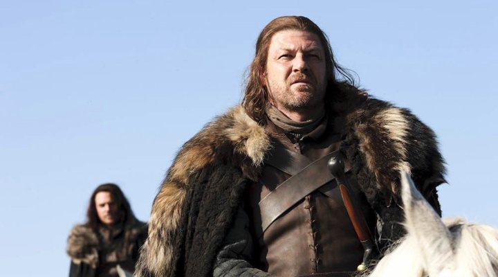 Sean Bean como Ned Stark en 'Juego de Tronos'