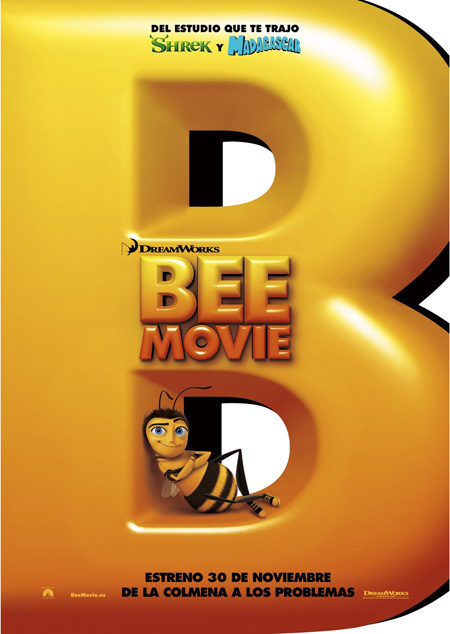 Nuevo cartel de 'Bee movie'