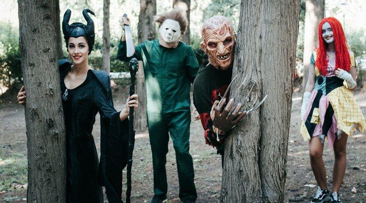 Maléfica, Michael Myers, Freddy Krueger y Sally