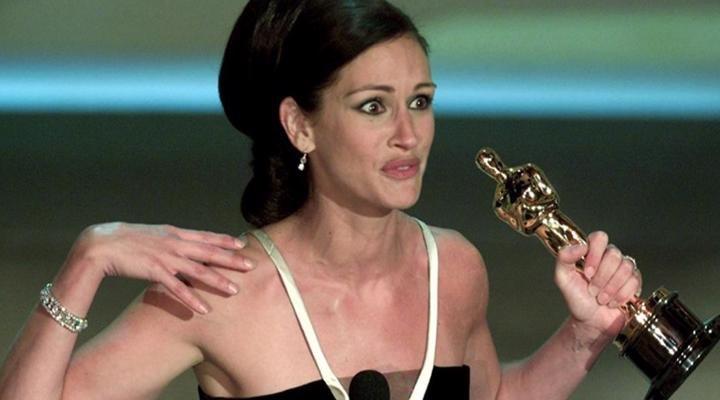 Julia Roberts en los  Oscars