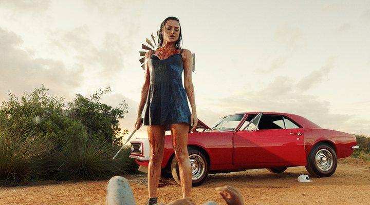 Christina Ochoa en 'Blood Drive'