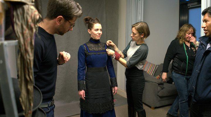 Prueba de vestuario con Giovanni Lipari