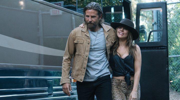 Bradley Cooper y Lady Gaga en 'Ha nacido una estrella