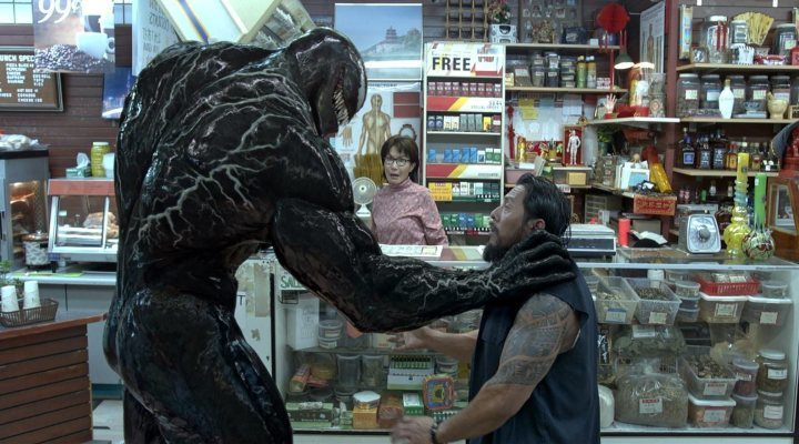 Tom Hardy en 'Venom'