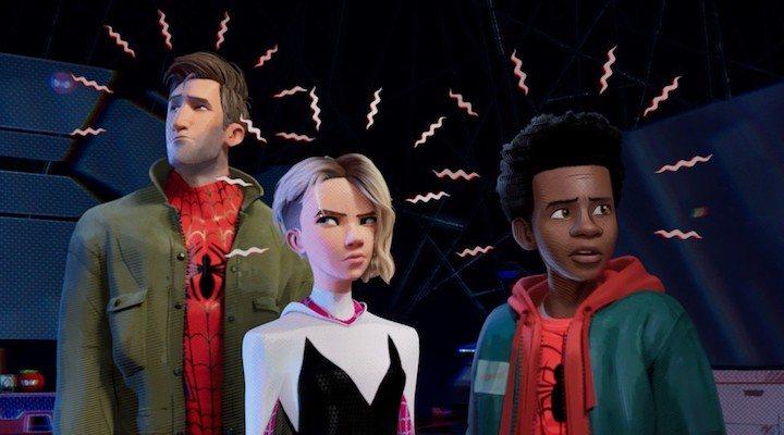 El sentido arácnido de Peter, Gwen y Miles