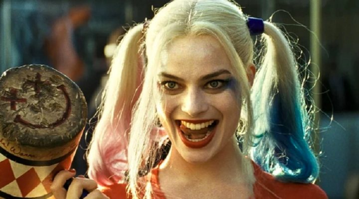 Margot Robbie como Harley Quinn en 'Escuadrón Suicida'