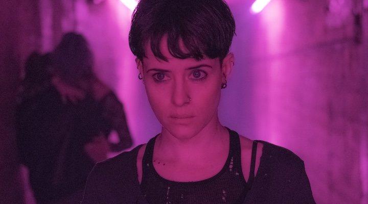 Claire Foy en 'Millennium: Lo que no te mata te hace más fuerte'