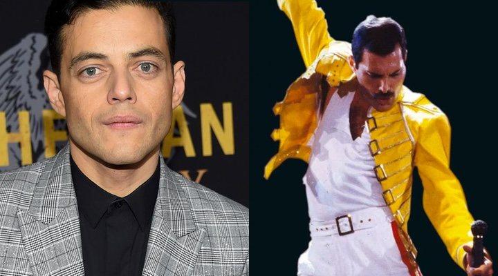 Rami Malek y Freddie Mercury
