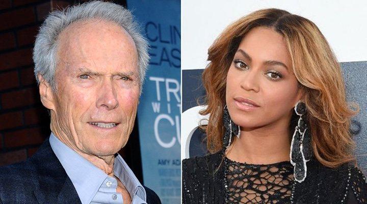 Imagen de Clint Eastwood y Beyoncé