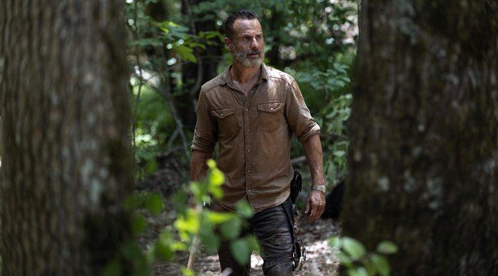 Andrew Lincoln como Rick Grimes en 'The Walking Dead'