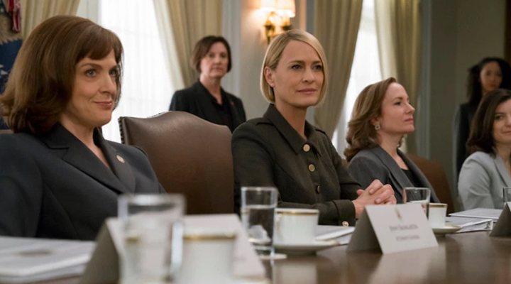 Robin Wright en la sexta temporada de 'House of Cards'