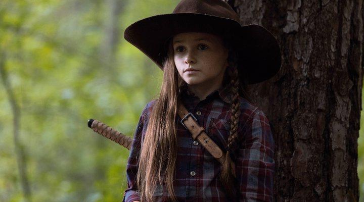 Cailey Fleming como Judith Grimes en 'The Walking Dead'