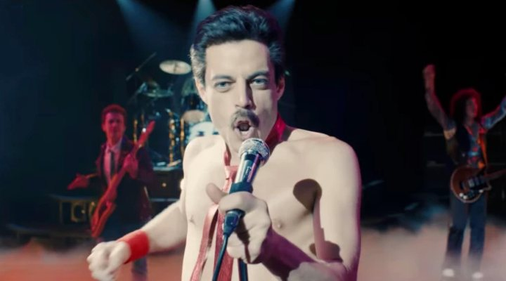 'Bohemian Rhapsody' biopic clip exclusivo
