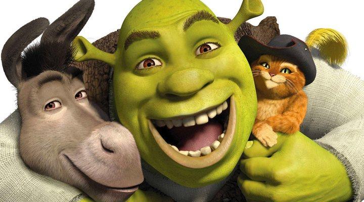 Asno, Shreky el Gato con Botas