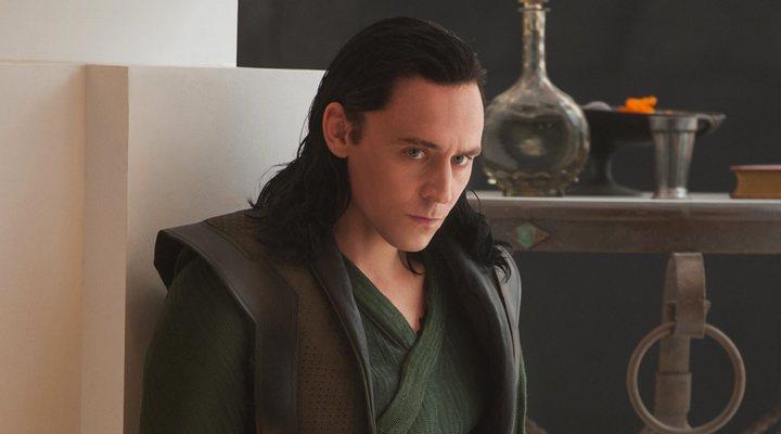 Tom Hiddleston como Loki en 'Thor: El mundo oscuro'