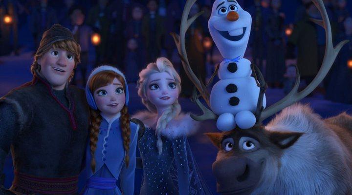 Personajes de 'Frozen: Una aventura de Olaf'