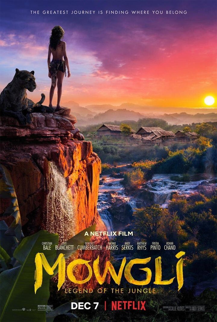 Póster de 'Mowgli' de Andy Serkis