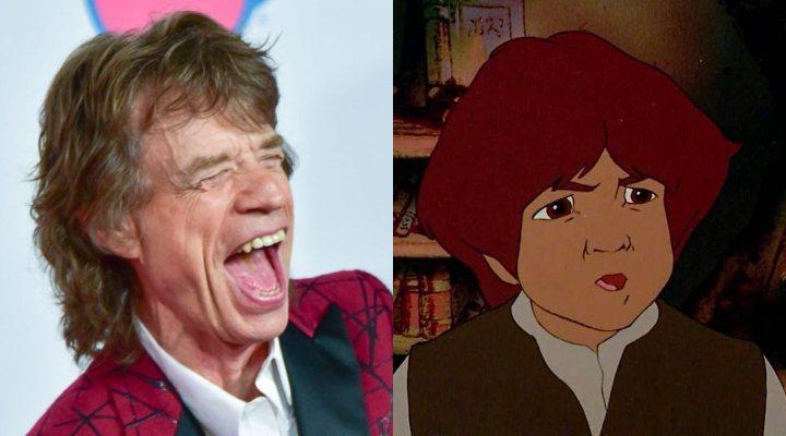 Mick Jagger y Frodo animado