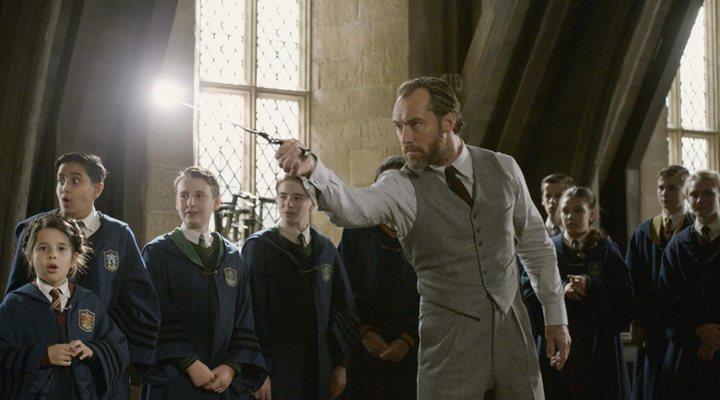 Jude Law en 'Animales fantásticos: Los crímenes de Grindelwald