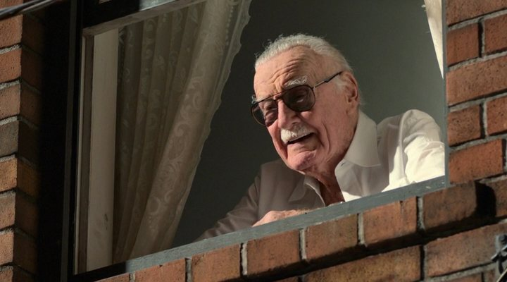 Stan Lee en 'Spider-Man: Homecoming'