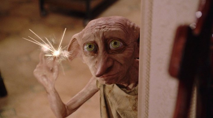 Harry Potter y la cámara secreta Dobby