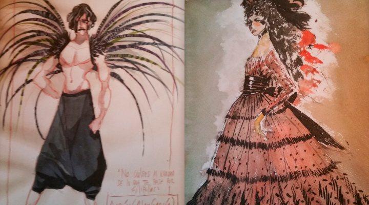Diseños de Cristina Rodríguez y Pedro Moreno