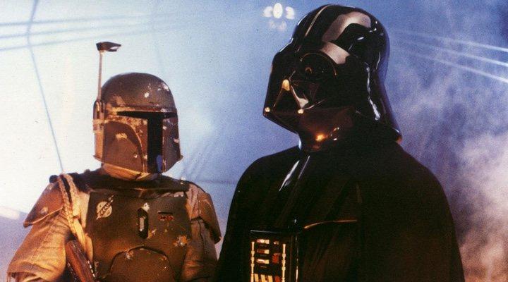 Boba Fett y Darth Vader en 'Star Wars: El Imperio contraataca'
