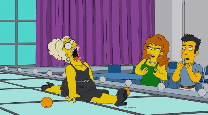 Imagen de 'Werking Mom' de 'Los Simpson'
