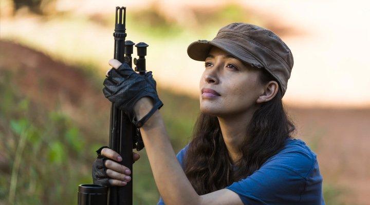Rosita en 'The Walking Dead'