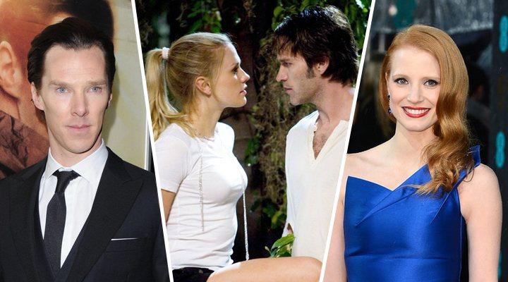 Benedict Cumbertach; Anna Paquin y Stephen Moyer en 'True Blood'; Jessica Chastain