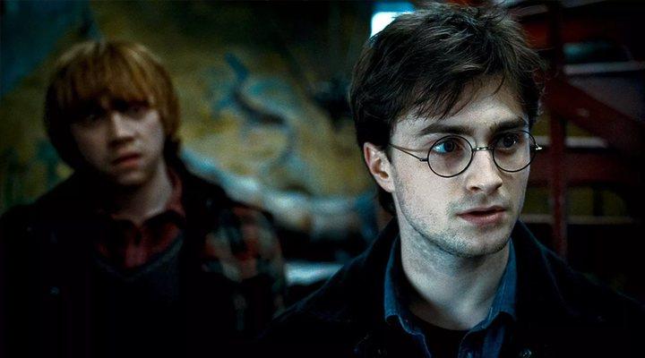 Daniel Radcliffe como 'Harry Potter'