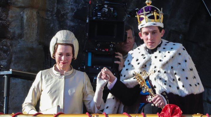 Olivia Colman, Josh O'Connor, 'The Crown'