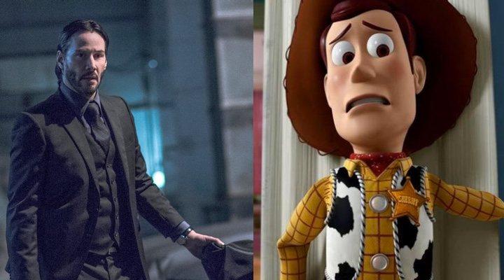 'John Wick' y 'Toy Story'