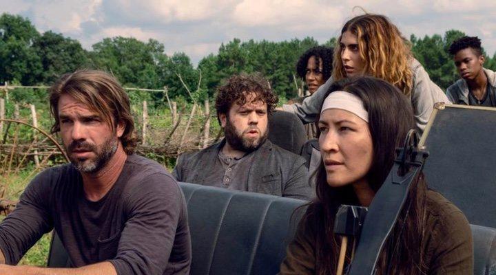 Imagen de la novena temporada de 'The Walking Dead'