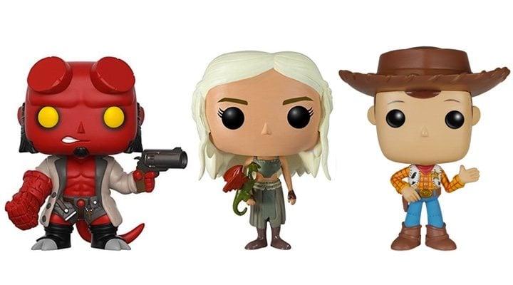 Imagen de Funko POP! de 'Toy Story', 'Juego de Tronos' y 'Hellboy'