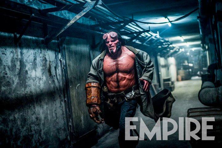 David Harbour imagen reboot Hellboy
