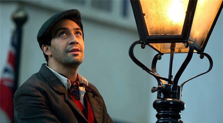 Lin-Manuel Miranda en 'El regreso de Mary Poppins'