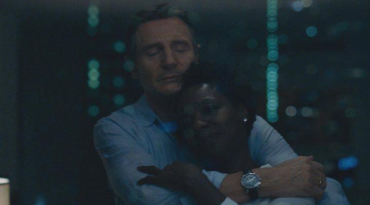 Liam Neeson y Viola Davis