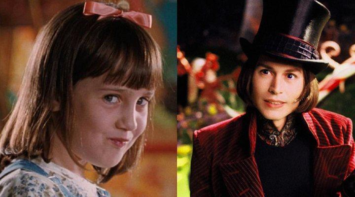 Matilda y Willy Wonka
