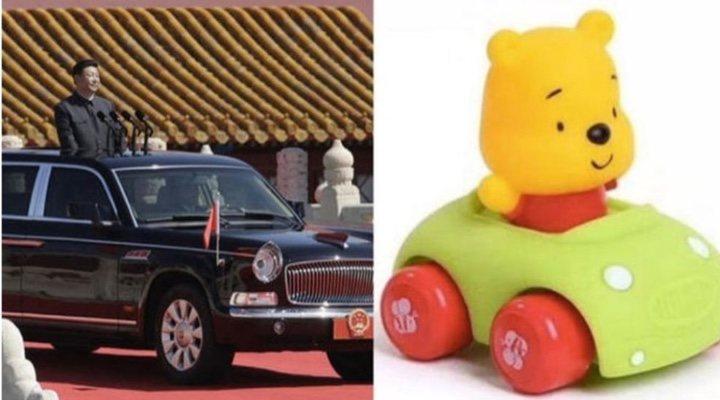 Imagen de Winnie the Pooh y Xi Jinping