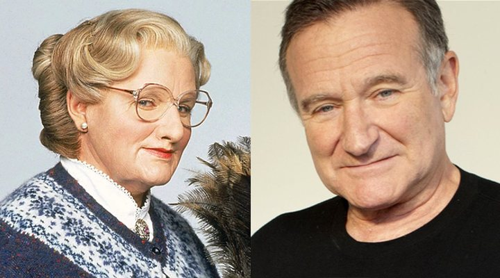 Robin Williams es la señora Doubtfire