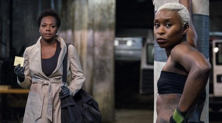Viola Davis y Cynthia Erivo en 'Viudas'
